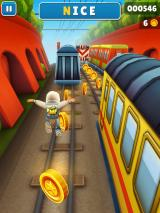 Subway Surfers iPad Whee! Jumping over coins
