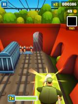 Subway Surfers iPad Roof chase