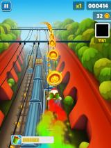 Subway Surfers iPad Flying with a jetpack