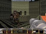 Duke Nukem 3D DOS The Battlelord at the end of Episode 1