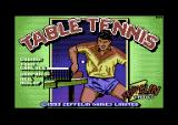 Table Tennis Commodore 64 Loading screen.