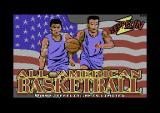 All American Basketball Commodore 64 Loading screen.