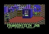 Frankenstein Jnr. Commodore 64 Title screen.