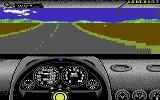 The Duel: Test Drive II Commodore 64 First stage (low details mode)