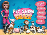Pet Show Craze Windows Main Menu