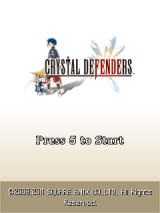Crystal Defenders J2ME Title screen