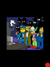 "The Simpsons Arcade J2ME ""Cut scene"""