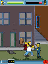 The Simpsons Arcade J2ME Very powerful weapon