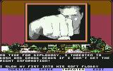 Mean Streets Commodore 64 Tex punches Dagot if he gets no information