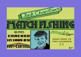 Jack Charlton's Match Fishing Commodore 64 Loading screen.
