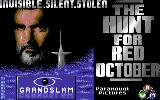 The Hunt for Red October Commodore 64 Loading screen