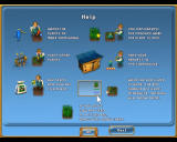 Virtual Farm Windows The first help screen.