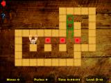 Puzzled Rabbit iPad Level with 3 boxes (easy/medium difficulty level)