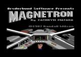 Magnetron Commodore 64 Loading screen.