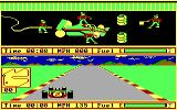 Pitstop II PC Booter Into the pit (PCjr)