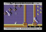 Vengeance Commodore 64 Blasting and dodging.