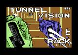Tunnel Vision Commodore 64 Loading screen.