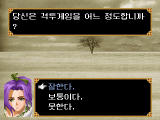 Forgotten Saga Windows Character generation: answer all sorts of questions...