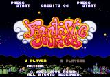 Parodius SEGA Saturn Fantastic Journey: title screen