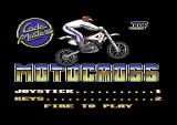 Moto X Simulator Commodore 64 Title screen.