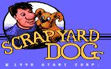 Scrapyard Dog Atari 7800 Title screen