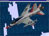The Virtual Squadron Windows The Republic F-105B in Thunderbird livery. This plane was a Thunderbird in 1964.