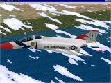 The Virtual Squadron Windows The F4E Phantom II in Thunderbird livery
