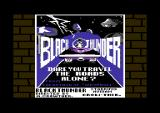 Black Thunder Commodore 64 Loading screen.