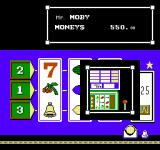 Vegas Dream NES Feed the one armed bandit and try to match up icons