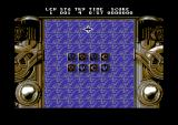 Neuronics Commodore 64 Start of the game.