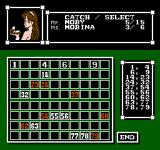 Vegas Dream NES Keno results of random draw