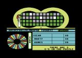 Wheel of Fortune: New Second Edition Commodore 64 Picking letters.