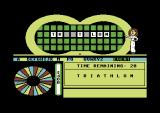 Wheel of Fortune: New Second Edition Commodore 64 Agnes again.