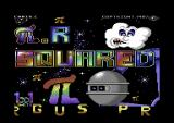 πr² Commodore 64 Title screen.