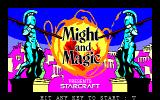 Might and Magic: Book One - Secret of the Inner Sanctum FM-7 Title screen