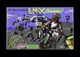 Professional BMX Simulator Commodore 64 Loading screen.