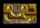 Professional BMX Simulator Commodore 64 Desert Racing.