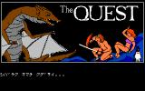 The Quest FM-7 Title screen