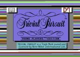 Trivial Pursuit: Young Players Edition Commodore 64 Loading screen.