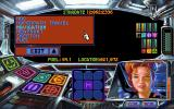 Protostar: War on the Frontier DOS As the game progresses, experts join your crew, improving station performance. This is Cassi, the cute navigator.