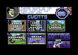 Supersports: The Alternative Olympics Commodore 64 Choose your events.