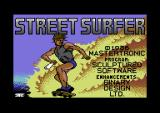 Street Surfer Commodore 64 Loading screen.