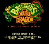 Battletoads & Double Dragon: The Ultimate Team NES Title screen