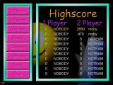 This is the main menu and high score table. The 'Load'  option is used to play player created levels