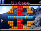 Krakout Unlimited Windows A single player game against the computer is in progress