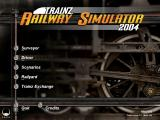 Trainz Railroad Simulator 2004 Windows This is the main menu.
