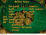 Disney•Pixar A Bug's Life Windows The options menu contains a key redefinition screen