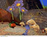 Disney•Pixar A Bug's Life Windows The little yellow things over the mushrooms renew Flik's energy and the wasp is an enemy