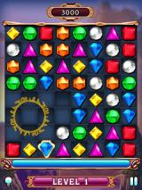 Bejeweled 3 J2ME A flame gem explodes