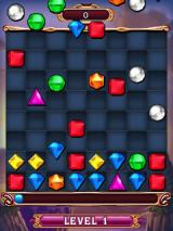 Bejeweled 3 J2ME Board is being arranged